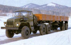 Конструкция полуприцепа А-496