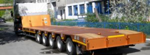 Транспортировка грузов полуприцепами ЧМЗАП