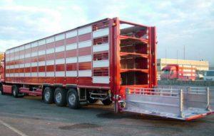 Полуприцепы для перевозки скота