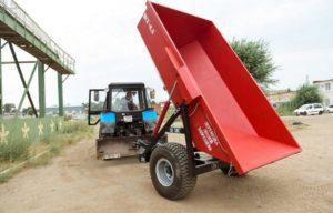 Как выбрать тракторный самосвальный полуприцеп