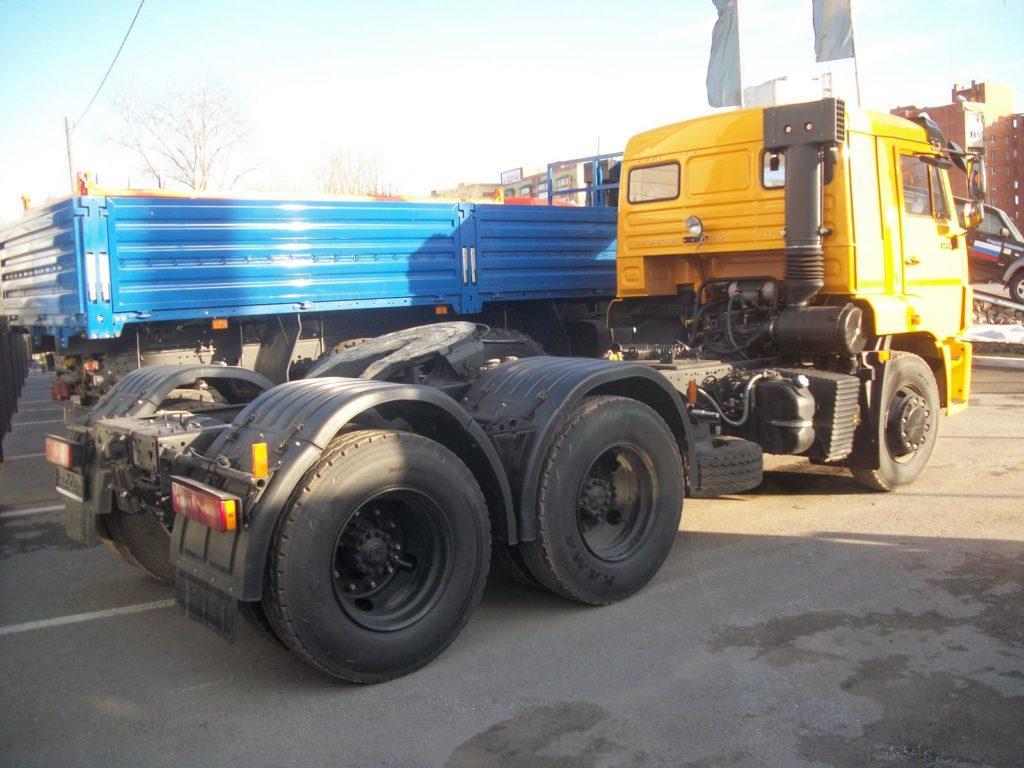 КамАЗ 65116 колеса