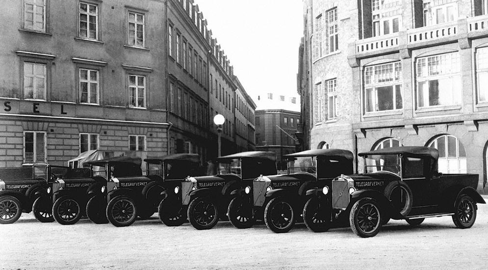 Первые автомобили Volvo
