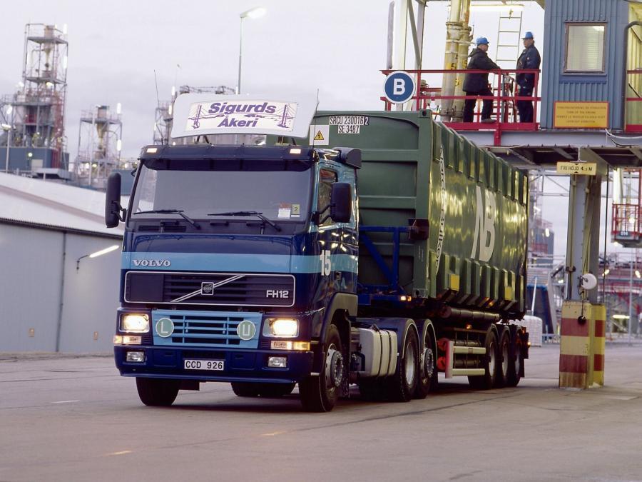 Volvo FH12 1993 года выпуска