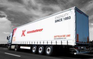 Характеристики полуприцепов Kassbohrer