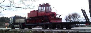 Перевозка грузов полуприцепами Van Hool