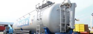 Перевозка жидких грузов полуприцепом Van Hool
