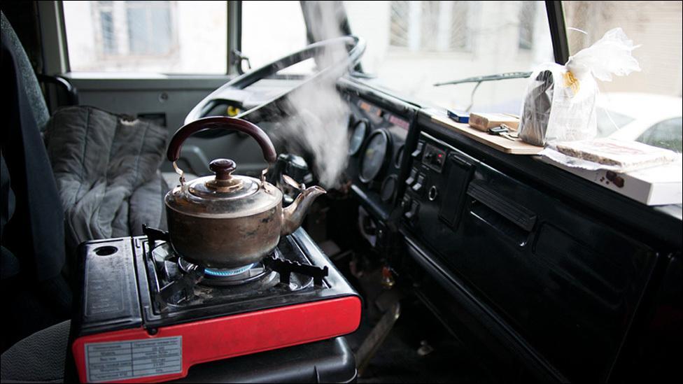 Чайник в КамАЗе