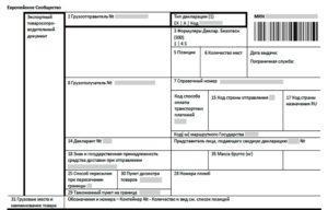 Пакет документов для международных грузоперевозок