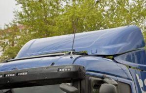Как правильно установить антенну для рации дальнобойщиков