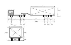 Схема 3+3 для автопоезда