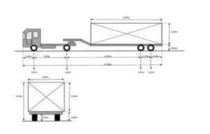 Схема 2+2 для автопоезда