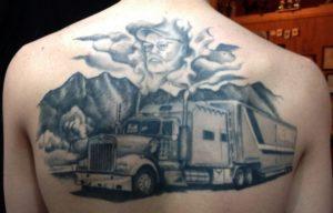 Татуировки и их значение для дальнобойщиков