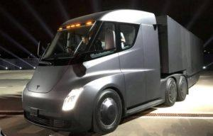 Характеристики электрической фуры Tesla Semi Truck