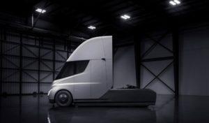 Экстерьер электрической фуры Tesla Semi Truck