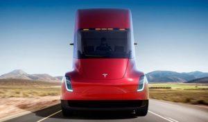 Как выглядит электрическая фура Tesla Semi Truck