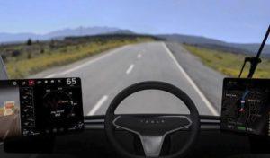 Как управлять электрической фурой Tesla Semi Truck