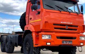 Характеристика седельного тягача КамАЗ-53504