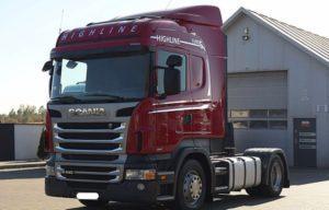 Виды седельных тягачей Scania серии R440