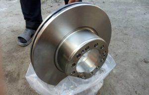 Характеристики тормозных дисков для полуприцепов