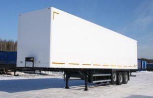 Виды изотермических фургонов