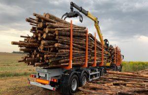 Что такое полуприцеп-лесовоз