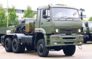 Характеристика седельного тягача КамАЗ-65225