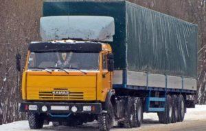 Характеристики седельного тягача КамАЗ-5410