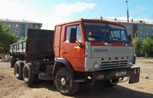 Конструкция седельного тягача КамАЗ-5410